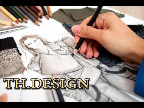 تعليم تصميم ازياء دورات تصميم ازياء ازياء بنات Th Design Fashion Design Diy Canvas Art Painting Design