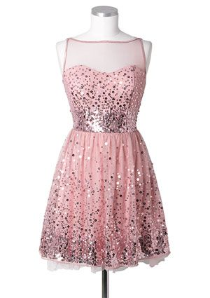 20 Sequined Dresses Perfect For Prom | Silver sequin, Sequins and Rose
