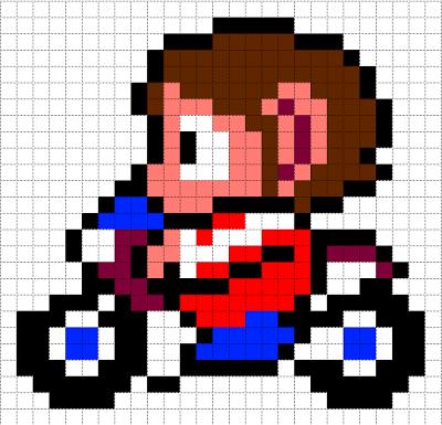 Alex Kidd Pixel Art Pixel Art Templates Minecraft Pixel Art