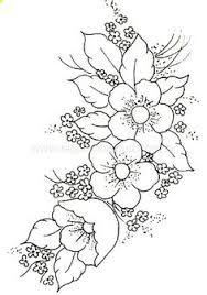 Resultado De Imagen Para Flores Para Bordar Patrones De