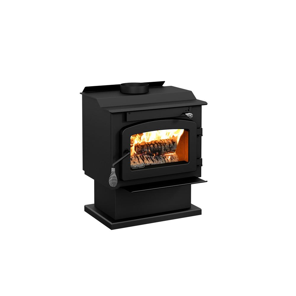 Drolet Pyropak 22 In Wood Stove 1000 Sq Ft Epa Certified On