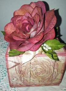 Scrapbooking et Petits Papiers: Tuto Rose
