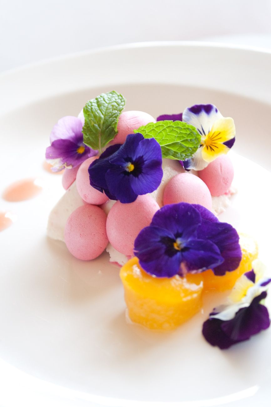 Chef Richard Toix Peach And Mascarpone Cream Like Floriched - Cuisiner comme un chef poitiers