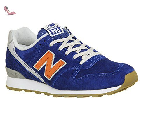New Balance WR 996 LD Redwood Womens Suede Trainers Blue - 37.5 EU BsUJiHMwp