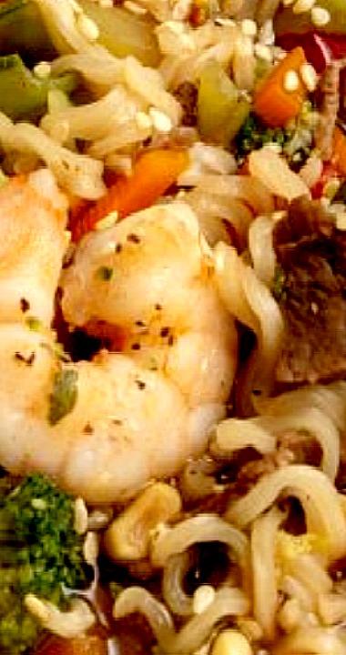 Surf And Turf Ramen Recipes Ramen Noodle Recipes Popular Drink Recipes