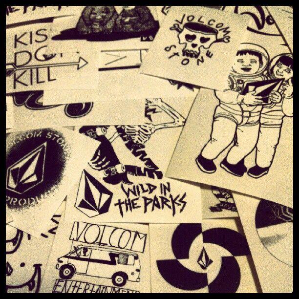 Volcom stickers soon skateboardstickers volcom pinterest volcom stickers soon malvernweather Image collections