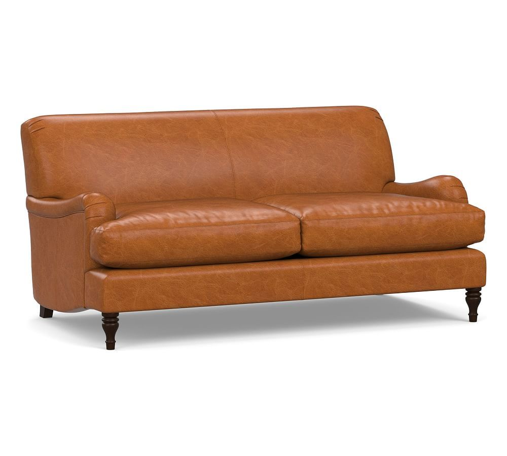 Outstanding Carlisle Leather Sofa In 2019 Products Leather Chaise Onthecornerstone Fun Painted Chair Ideas Images Onthecornerstoneorg