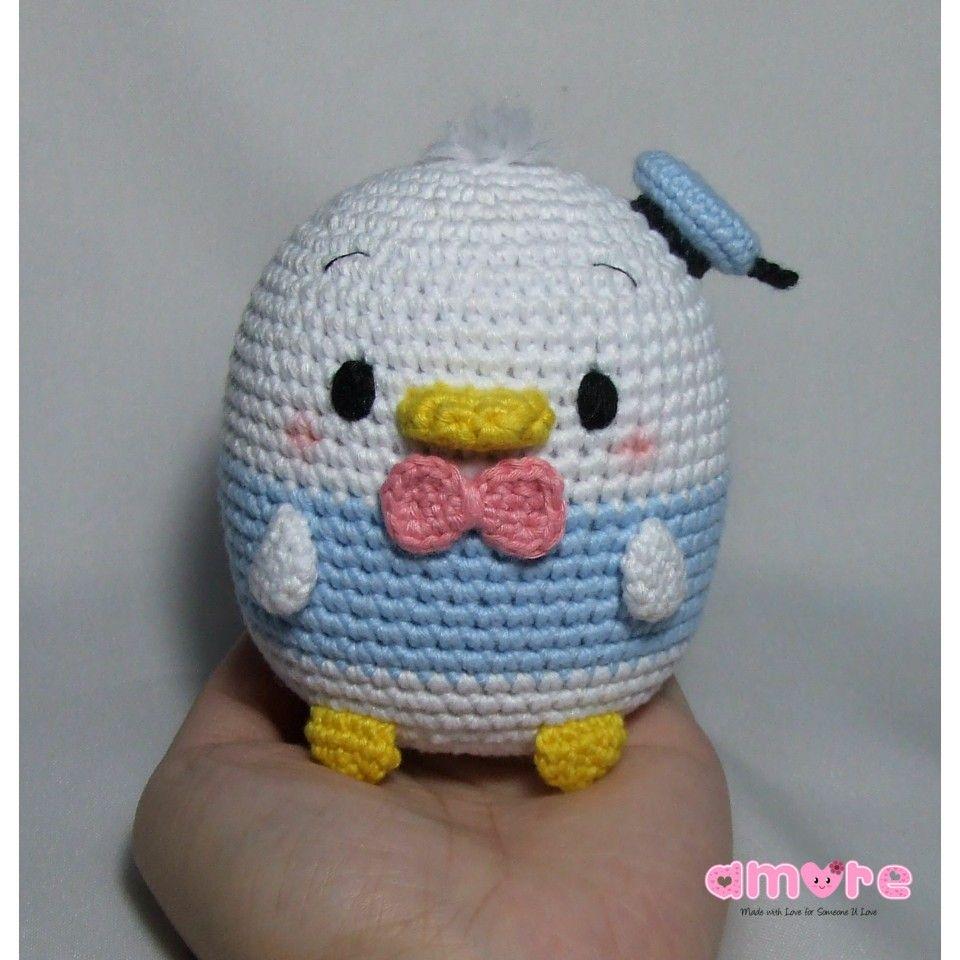 Amigurumi Tsum Tsum Ufufy Donald Duck Amigurumi Pinterest