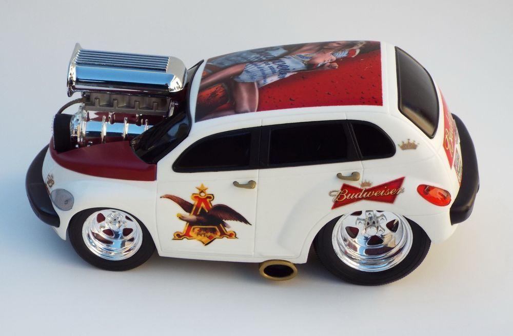 Muscle Machines Custom Budweiser Babe PT Cruiser Hot Rod Car 1:18 ...