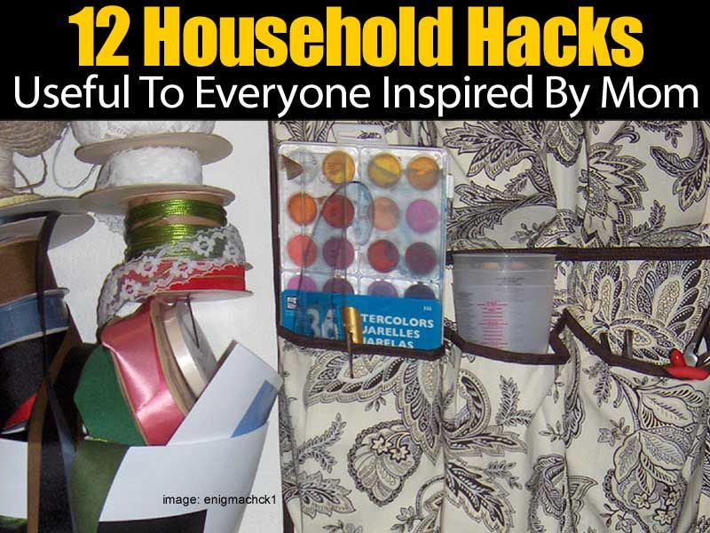 Have you often been left with an assortment of items that you are unable to use? There are many households hacks for everyday items that can help you put these items to good use. Some of these ideas include using a carabiner to keep hair ties organized, organizing mail with a... #fal #spr #sum