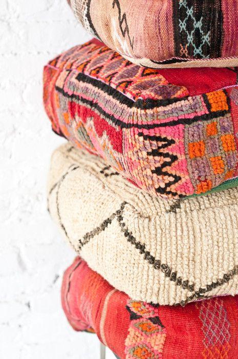 How To Make Moroccan Floor Pillows : Moroccan Floor Pillows Patina For the Home Pinterest Floor pillows and Pillows