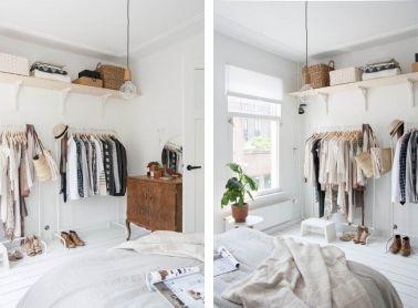 faire un dressing pas cher soi m me facilement buanderie pinterest dressing chambre et. Black Bedroom Furniture Sets. Home Design Ideas