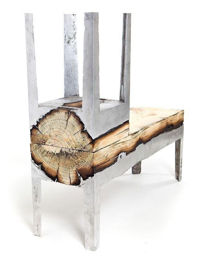 Hilla Shamia.  Wood and Aluminium furniture.