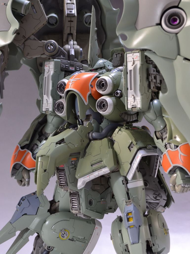 HGUC 1/144 NZ-666 KSHATRIYA custom build by gj009 a stunning model