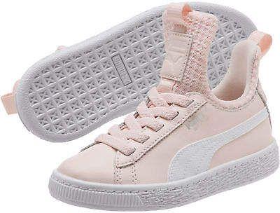 Puma Basket Fierce EP AC Preschool Sneakers Girls Low Boot Kids New ... 80c22401d