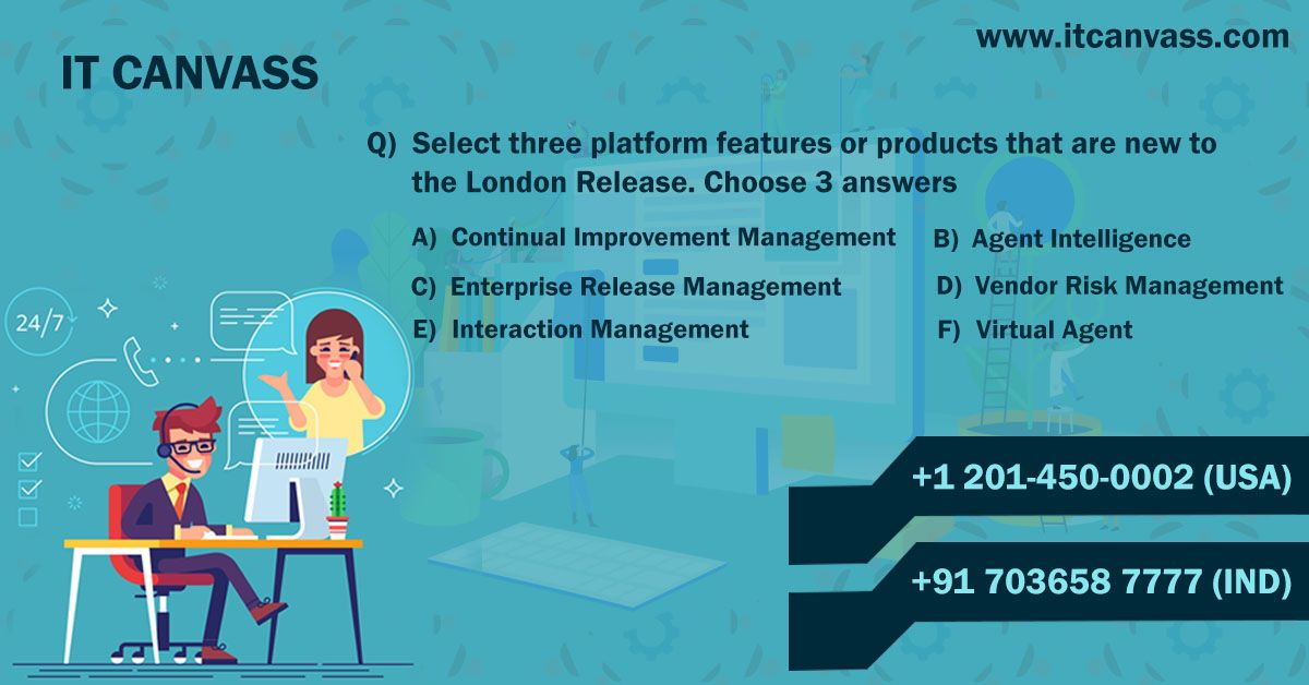 Drop Your Answer For This Servicenow Technical Question For More Details Of Servicenow Training Visit Htt Online Training Risk Management Online Courses