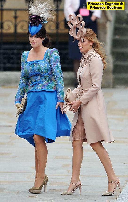 Princess Eugenie Vs Princess Beatrice Who Donned Their Royal Hat Best Kate Middleton Hochzeit Hochzeitshut Prinzessin Eugenie