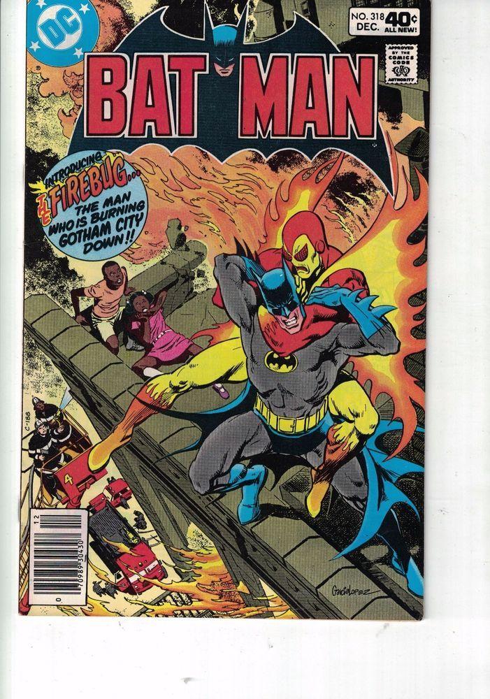 #DCCOMICS https://t.co/ZsL7f2S7A0 DC Comics Batman 318 Dec 1979 1st Appearence of Fire Bug 40c usa https://t.co/lYhrzGIEQv