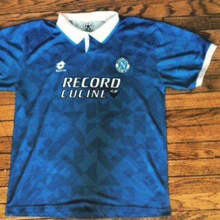 1994 95 Napoli football shirt L - classic Napoli shirt from early 90s. Buy  now for 30  Football  footballshirt  footballshirtcollective  napoli   seriea ... 738b26a03