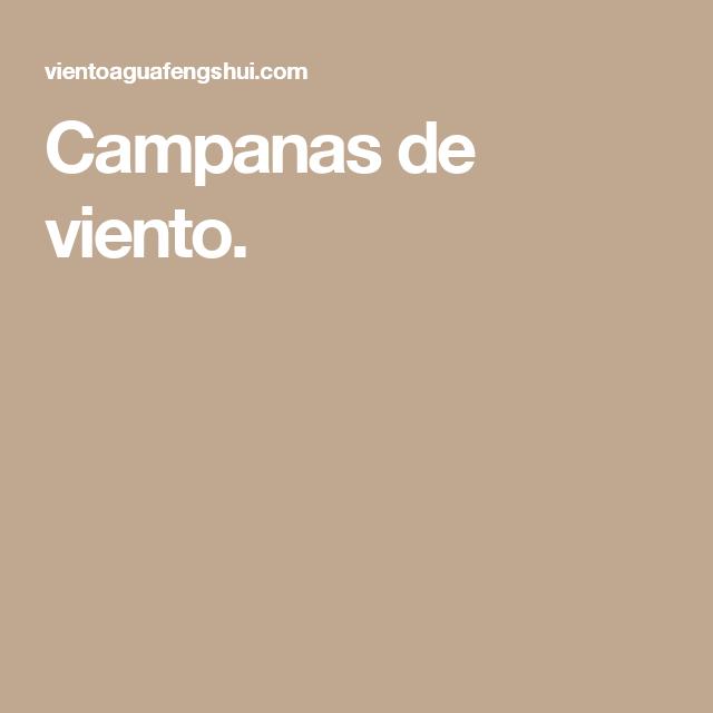 Campanas De Viento Campanas De Viento Feng Shui En Español Viento