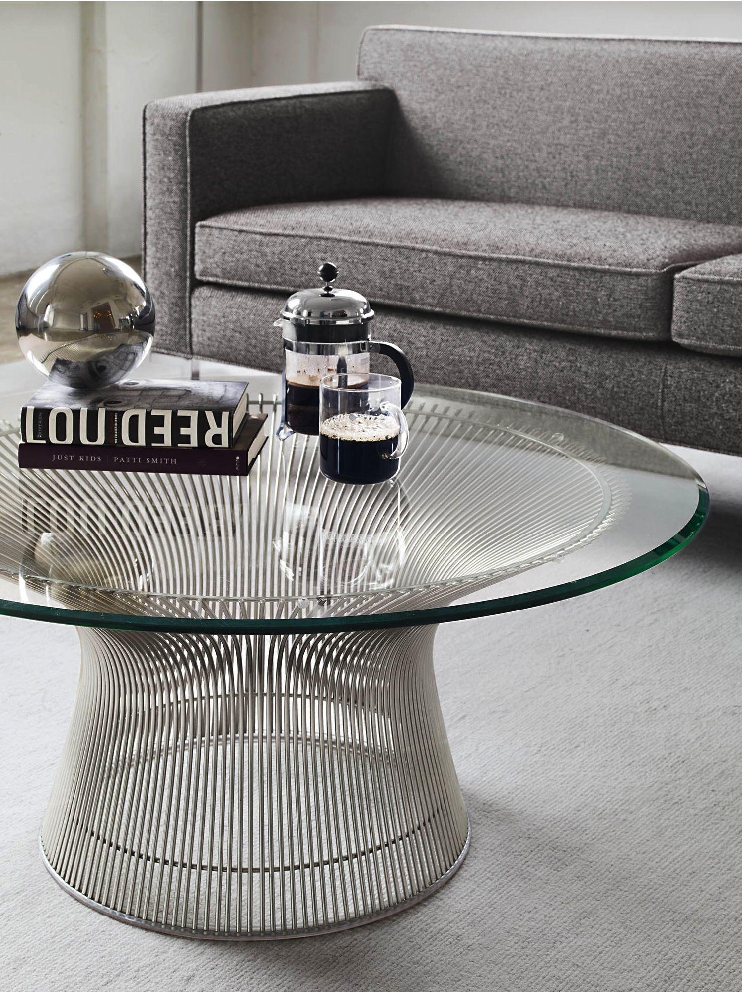 Platner Coffee Table Mit Bildern Wohnzimmertische Modernes