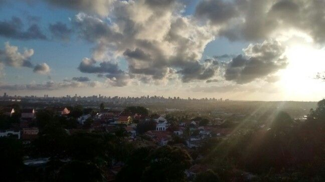 Olinda/Recife pôr do sol!
