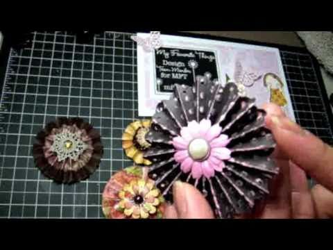 More creative ways of using your Martha Stewart corner punches and Fiskars border punches - YouTube