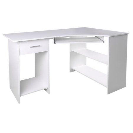 Computer Table Office Home Study Workstation Corner Desk With