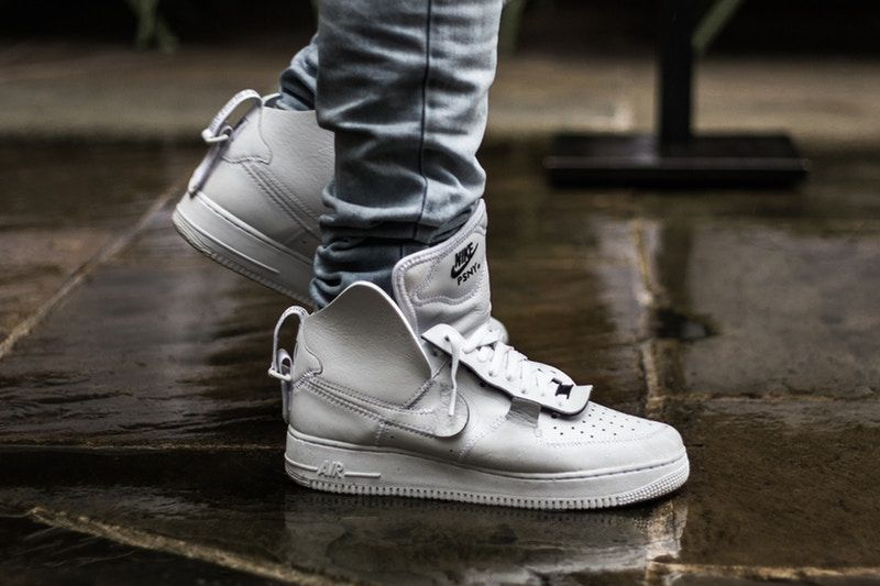 A Closer Look at the Public School x Nike Air Force 1 High Friends   Family 0983cef7304c