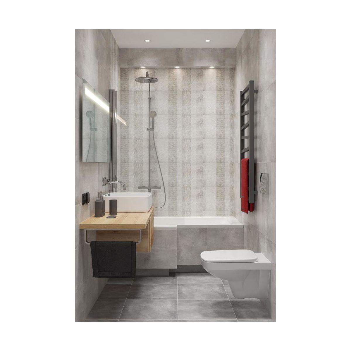 Wanna Asymetryczna Sensea Bathroom Toilet