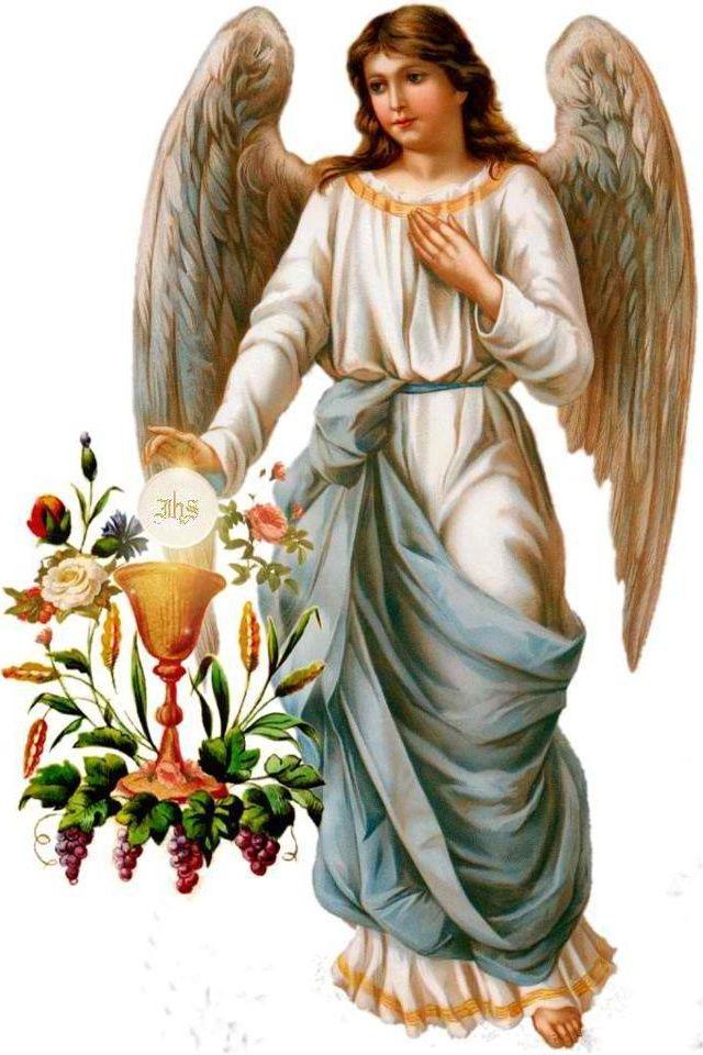 Angel and the Eucharist-Confirmation /Communion- Konfirmation und Kommunion