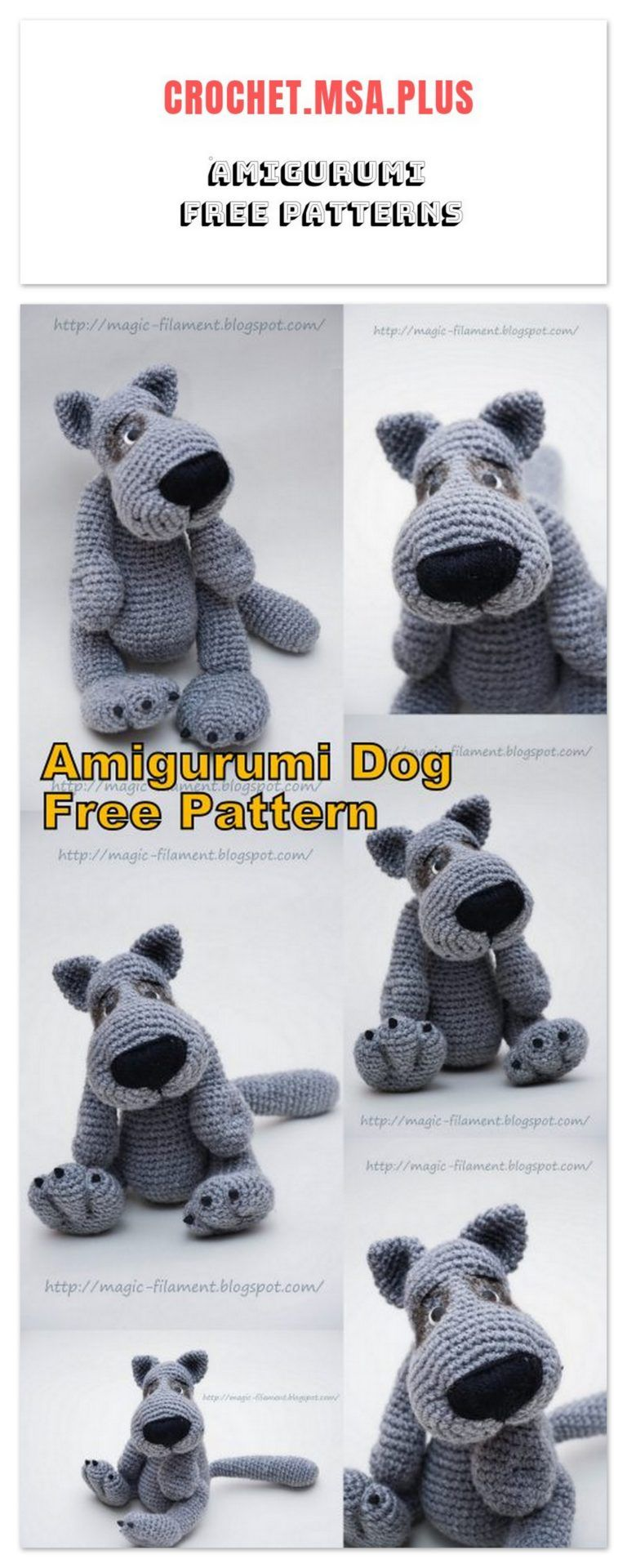 Dog Crochet Pattern Pinterest Top Pins Video Tutorial | Crochet ... | 1920x768