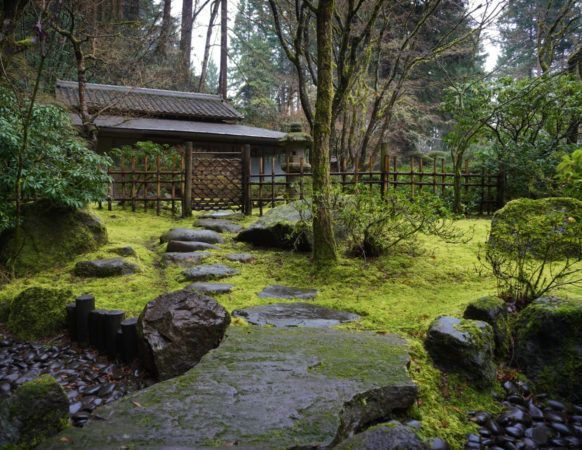 A Japanese tea garden is a place for quiet reflection on the beauty of nature and the art of living in harmony.      Origin and history  In densely populated countries such as Japan, where free space is a precious commodity, a lot of emphasis is traditionally placed on garden design. With a great sense of aesthetics, editing and patience, Far Eastern masters have made the Japanese Garden what it is today – an idealized land... #Beauty #Garden #Japanese #nature #Place #quiet #Reflection #Tea