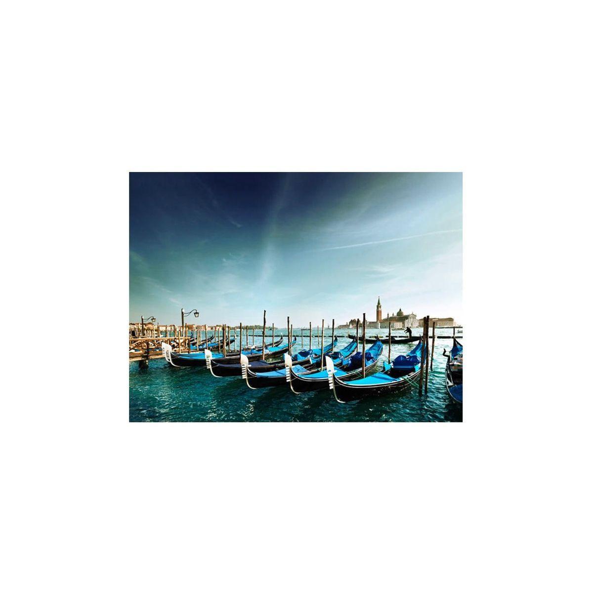 Papier Peint Gondoles Du Grand Canal Venise Taille 200x154 Cm