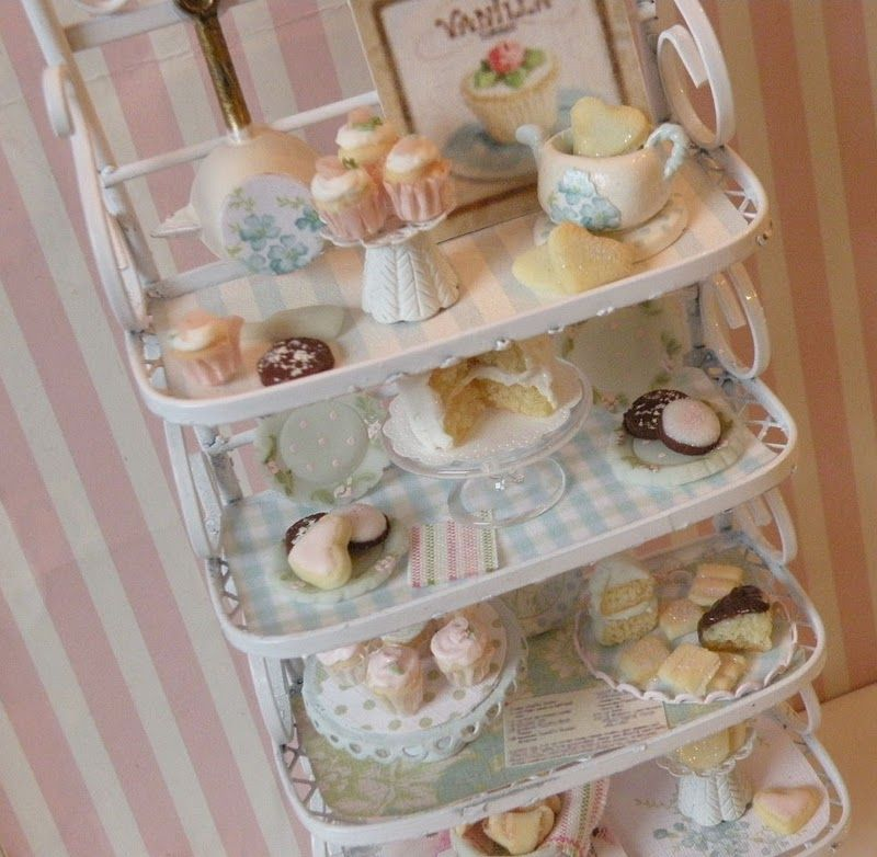 sooooo cute miniatures for dollhouse