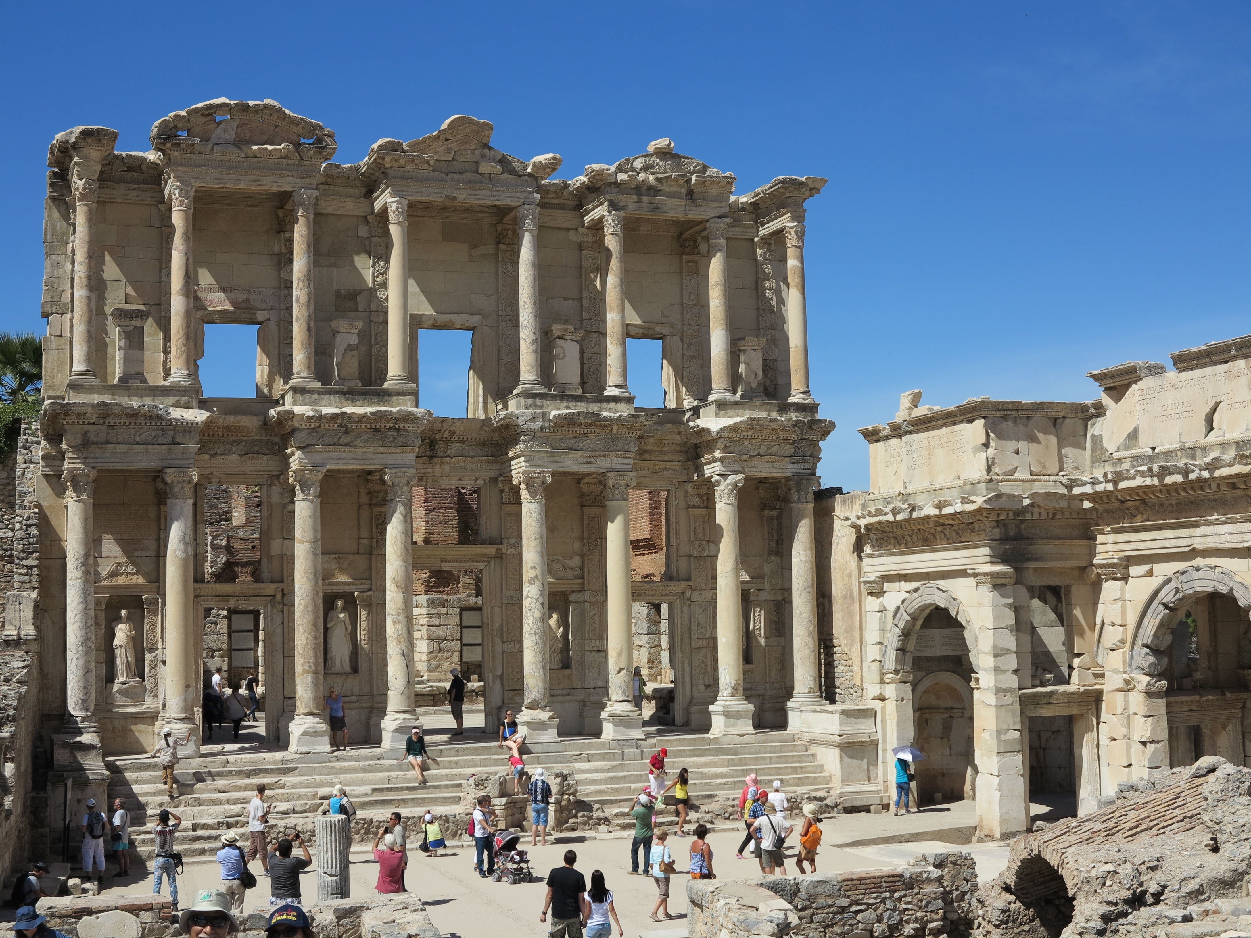 The wonderful ancient city of Ephesus - September 2013 - Photo by Susan Hunter