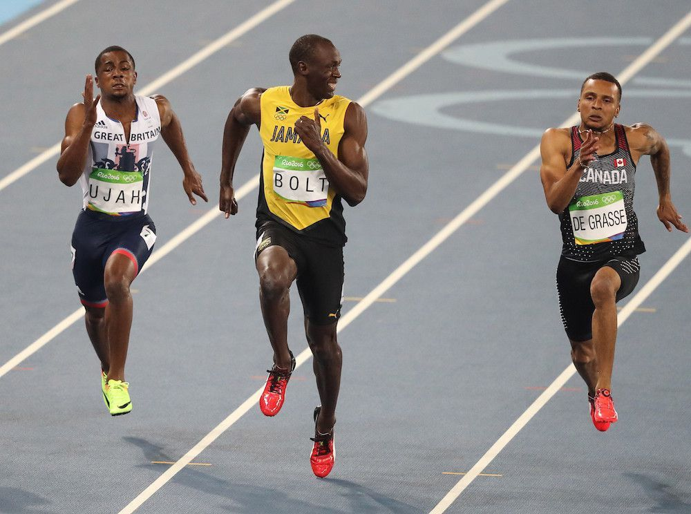 Usain Bolt gives the world the best Usain Bolt photo ever