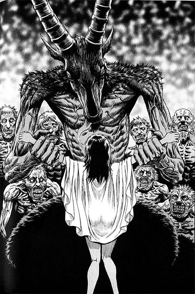 Illustration From Berserk Satanic Art Evil Art Dark Fantasy Art