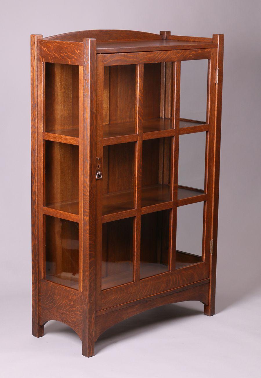 L Jg Stickley One Door China Cabinet Stickley Furniture Stickley Furniture Plans Craftsman Style Furniture