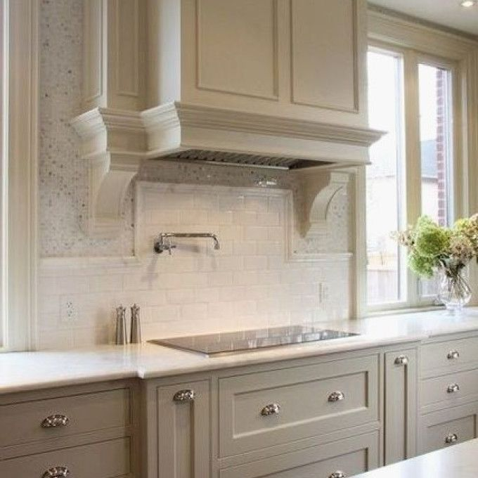 Taupe Painted Kitchen Cabinets Awesome Best 25 Taupe ...