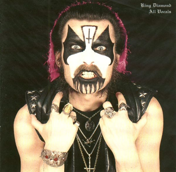 Mercyful Fate In The Shadows Booklet Image King Diamond Mercyful Fate Gothic Rock