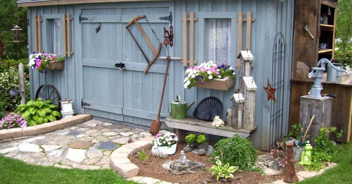 Shed DIY - For years I did not have a garden shed and started taking