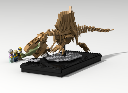 how to build a lego spinosaurus