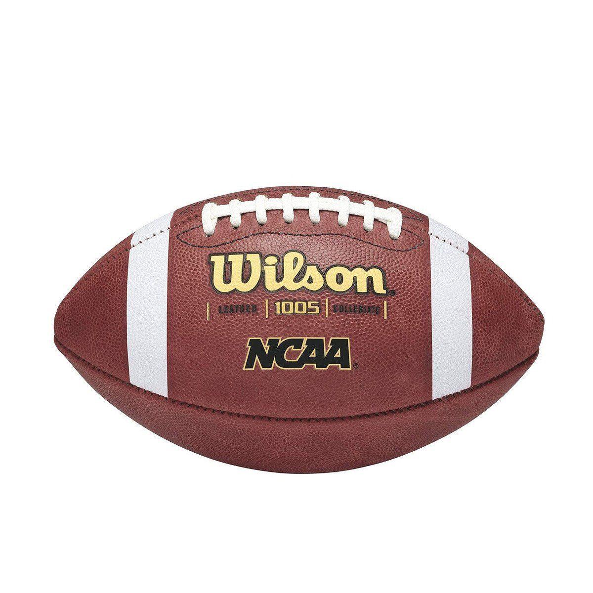 Wilson NCAA 1005 Traditional Leather Football Football