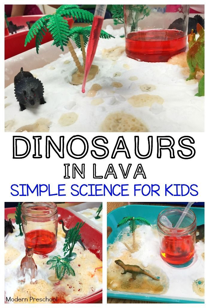 dinosaurs in lava science chemical reactions and activities. Black Bedroom Furniture Sets. Home Design Ideas