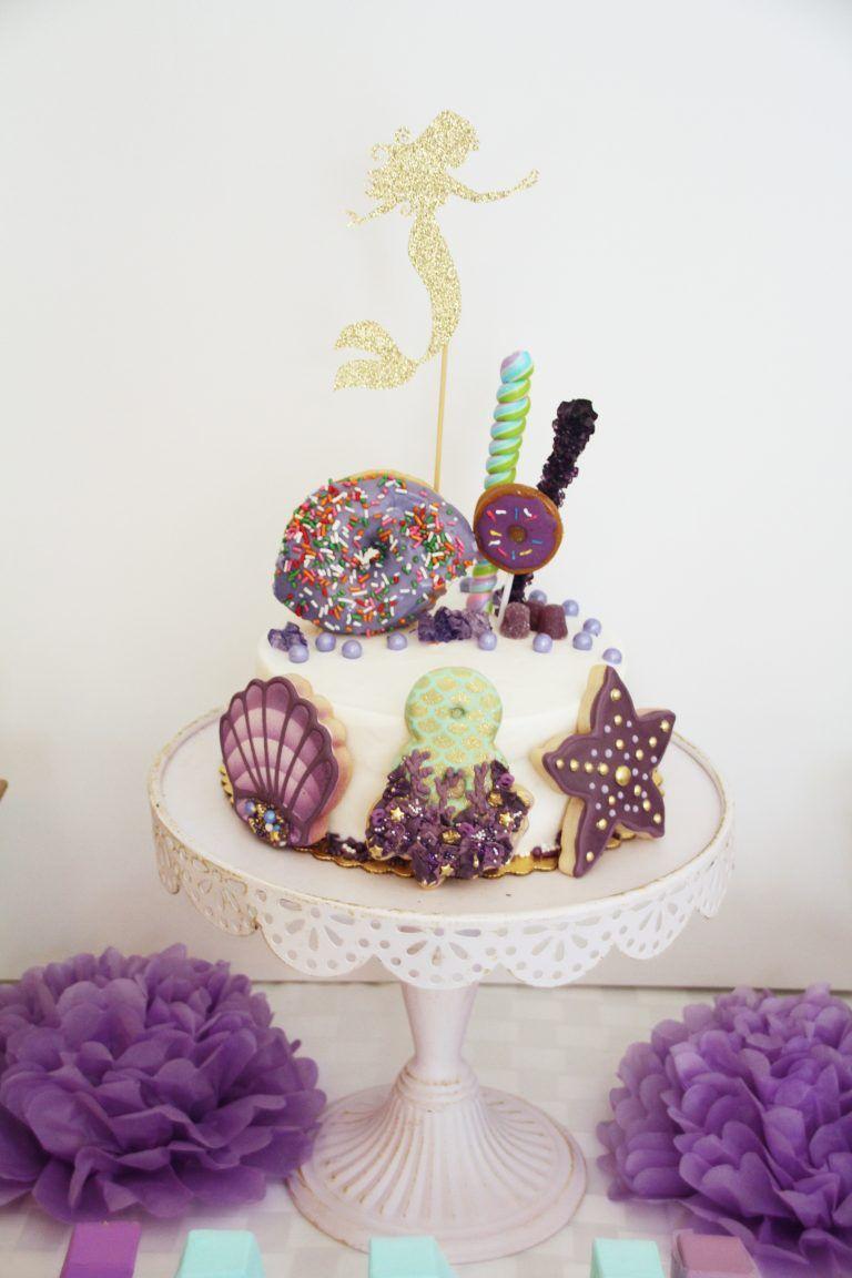 Mermaid birthday party cake under the sea 5m creations