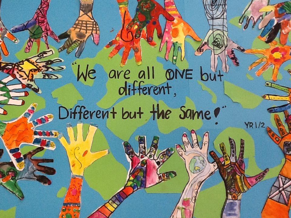 My Yr 1 2s Harmony Day Art Work Boston Life Magazine