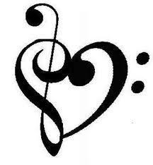 Tatuaje Clave De Sol Corazon Buscar Con Google Tattoo Pinterest