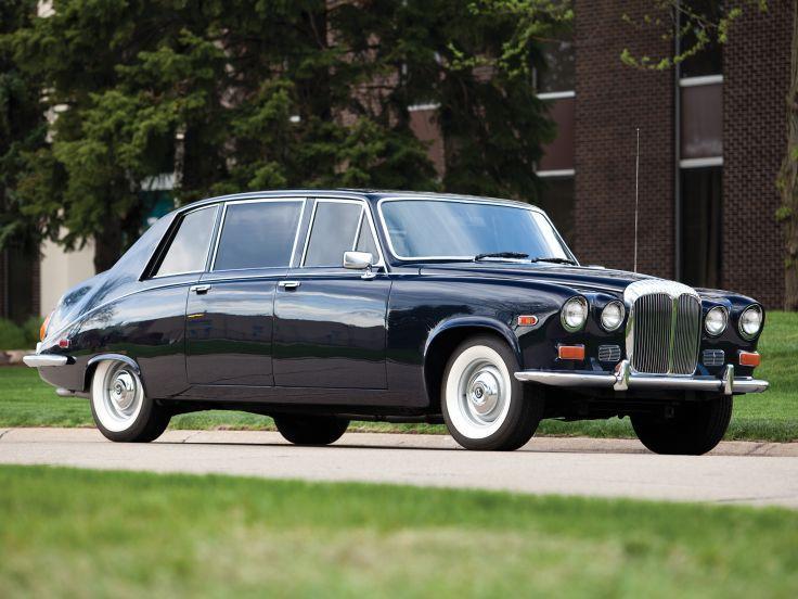 1985 Daimler Ds420 Limousine By Vanden Plas Jaguar Car