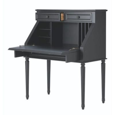 Martha Stewart Living Ingrid Secretary Desk in Rubbed ...